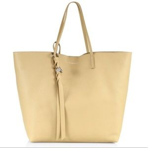 Alexander McQueen Leather Tote w/ Pouch